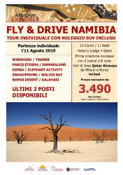 Fly and Drive Namibia