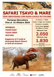 Safari Tsavo & Mare