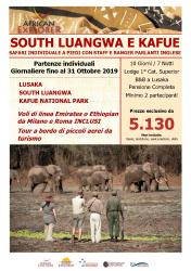 South Luangwa e Kafue